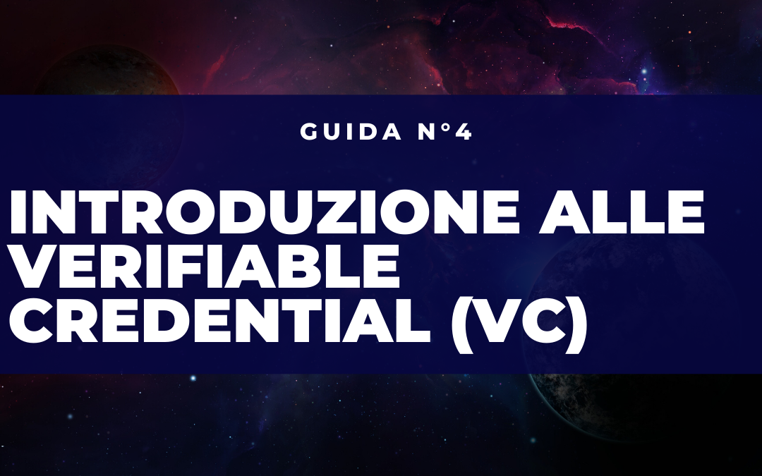 cosa sono le verifiable credentials