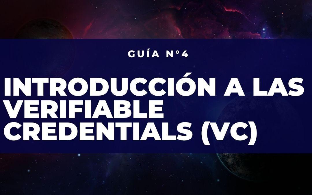 Introducción a las Verifiable Credentials