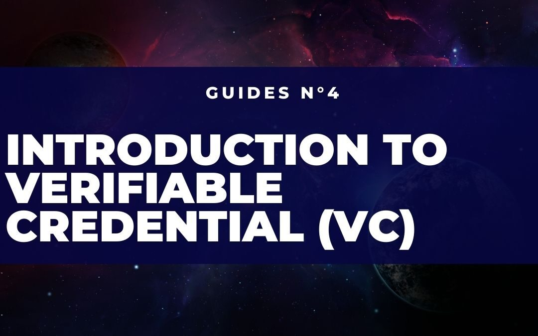 Introduction to Verifiable Credentials