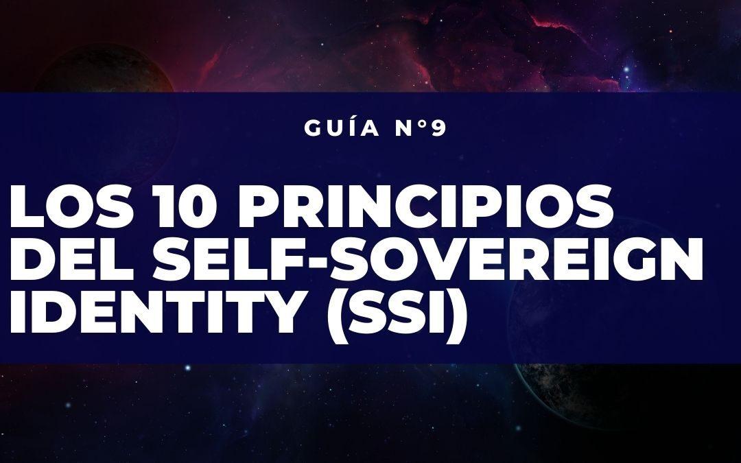 Los 10 principios de la Self-Soveregn Identity